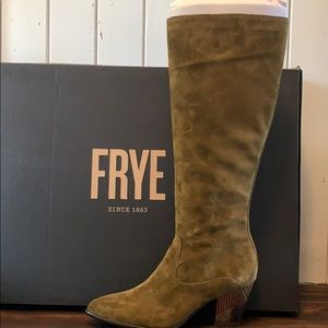 Frye Suede Boots New